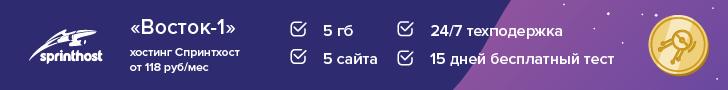Обзор провайдера Sprinthost